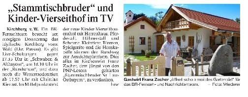 Kirchenwirt Zacher live im BR