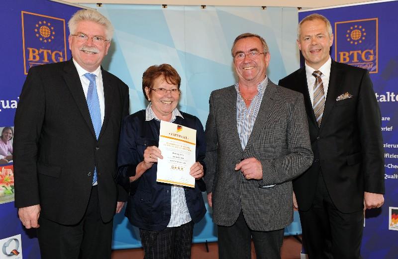 Kirchenwirt Zacher erhält 3-Sterne-Auszeichnung